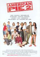 American Pie 2 - Spanish Movie Poster (xs thumbnail)