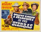 Twilight in the Sierras - Re-release poster (xs thumbnail)