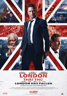 London Has Fallen - Vietnamese Movie Poster (xs thumbnail)