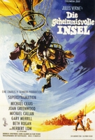 Mysterious Island - German Movie Poster (xs thumbnail)