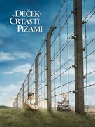 The Boy in the Striped Pyjamas - Slovenian Movie Poster (xs thumbnail)
