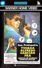 Bring Me the Head of Alfredo Garcia - Finnish VHS movie cover (xs thumbnail)