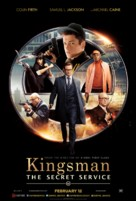 Kingsman: The Secret Service - Lebanese Movie Poster (xs thumbnail)