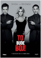 This Means War - Slovak Movie Poster (xs thumbnail)