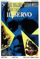The Servant - Italian Movie Poster (xs thumbnail)