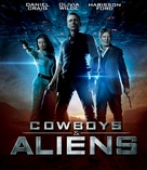 Cowboys & Aliens - Italian Blu-Ray cover (xs thumbnail)