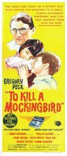 To Kill a Mockingbird - Australian Movie Poster (xs thumbnail)