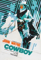 The Cowboys - Romanian Movie Poster (xs thumbnail)