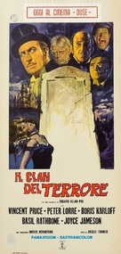 The Comedy of Terrors - Italian Movie Poster (xs thumbnail)