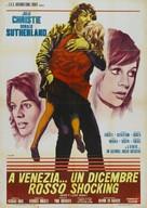 Don't Look Now - Italian Movie Poster (xs thumbnail)
