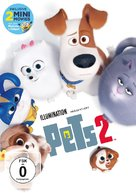 The Secret Life of Pets 2 - German DVD movie cover (xs thumbnail)