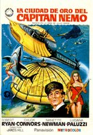 Captain Nemo and the Underwater City - Spanish Movie Poster (xs thumbnail)