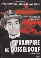Le vampire de Düsseldorf - French DVD cover (xs thumbnail)