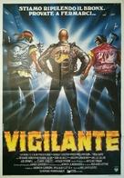 Vigilante - Italian Movie Poster (xs thumbnail)