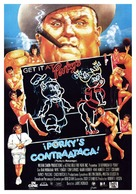 Porky's Revenge - Spanish Movie Poster (xs thumbnail)