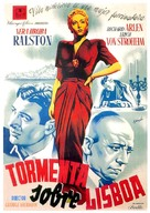 Storm Over Lisbon - Spanish Movie Poster (xs thumbnail)