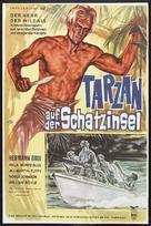 Tarzan and the Green Goddess - German Movie Poster (xs thumbnail)