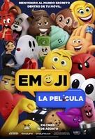 The Emoji Movie - Spanish Movie Poster (xs thumbnail)