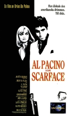 Scarface - Swedish Movie Cover (xs thumbnail)