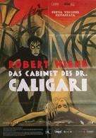 Das Cabinet des Dr. Caligari. - Italian Movie Poster (xs thumbnail)