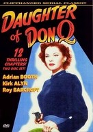 Daughter of Don Q - DVD movie cover (xs thumbnail)