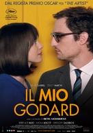 Le redoutable - Italian Movie Poster (xs thumbnail)