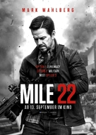 Mile 22 - German Movie Poster (xs thumbnail)