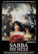 La visione del sabba - German Movie Poster (xs thumbnail)