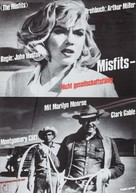 The Misfits - German Re-release movie poster (xs thumbnail)