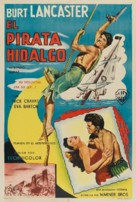 The Crimson Pirate - Argentinian Movie Poster (xs thumbnail)