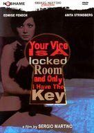 Il tuo vizio è una stanza chiusa e solo io ne ho la chiave - DVD cover (xs thumbnail)