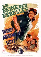 Belle Starr - French Movie Poster (xs thumbnail)