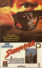 They Live - Argentinian VHS movie cover (xs thumbnail)