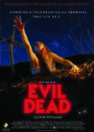 The Evil Dead - Finnish Movie Poster (xs thumbnail)