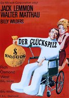 The Fortune Cookie - German Movie Poster (xs thumbnail)