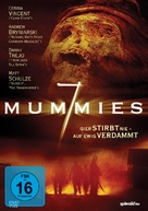 Seven Mummies - German DVD cover (xs thumbnail)