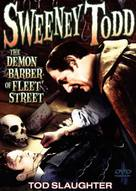 Sweeney Todd: The Demon Barber of Fleet Street - DVD cover (xs thumbnail)