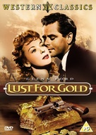 Lust for Gold - British DVD cover (xs thumbnail)