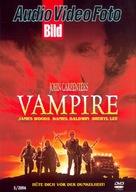 Vampires - German Movie Cover (xs thumbnail)