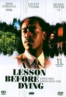 A Lesson Before Dying - German Movie Cover (xs thumbnail)