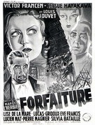 Forfaiture - French Movie Poster (xs thumbnail)