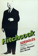 Vertigo - Hungarian Movie Poster (xs thumbnail)