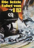 Mystery Submarine - German Movie Poster (xs thumbnail)