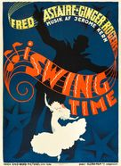 Swing Time - Danish Movie Poster (xs thumbnail)
