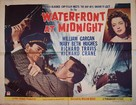 Waterfront at Midnight - Movie Poster (xs thumbnail)