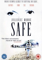 Safe - British DVD cover (xs thumbnail)