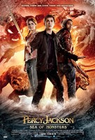 Percy Jackson: Sea of Monsters - Indonesian Movie Poster (xs thumbnail)