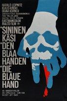 Die blaue Hand - Finnish Movie Poster (xs thumbnail)