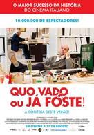 Quo vado? - Portuguese Movie Poster (xs thumbnail)