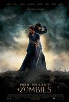 Pride and Prejudice and Zombies - Movie Poster (xs thumbnail)